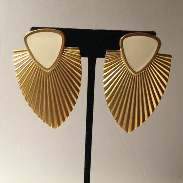 Art Deco Golden Era Earrings
